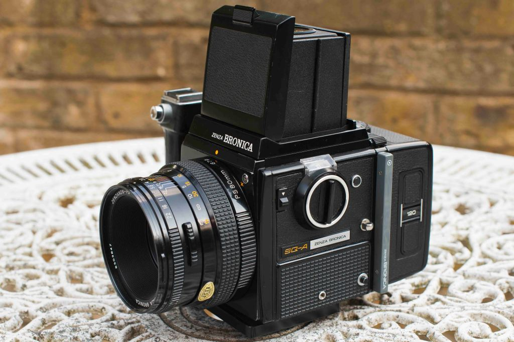 My new (old!) Bronica Medium Format Camera.... beautiful!