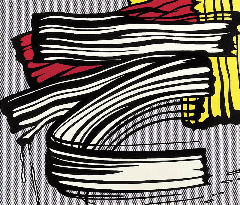 Roy Lichtenstein - 'Little Big Painting' 1965