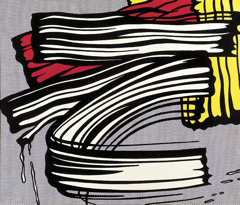 Roy Lichtenstein - 'Little Big Painting' 1965